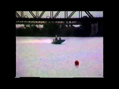 1988 South Australian State Water Ski Racing Titles - Murray Bridge
