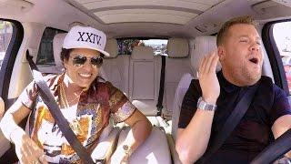 Bruno Mars Brings His '24K Magic' to 'Carpool Karaoke' With James Corden