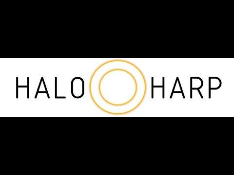 Halo Harp - International Year of Light 2015