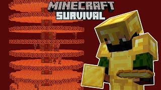 Massive Gold Farm! - Minecraft 1.16 Survival #21