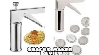 Snacks maker review/ muruku achu review in tamil