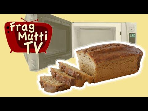 Rezept Nusskuchen Aus Der Mikrowelle In 5 Minuten Mit Frag Mutti Tv