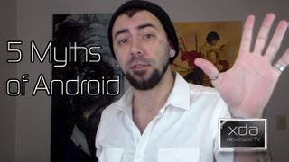 5 Myths of Custom OEM Android Skins -- AOSP, Sense, TouchWiz