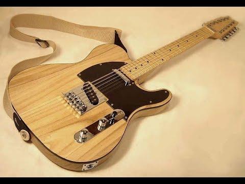 a look at a diy telecaster 12 string guitar youtube. Black Bedroom Furniture Sets. Home Design Ideas