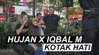 Download lagu Hujan X Iqbal M - Kotak Hati [Live at Sogo]