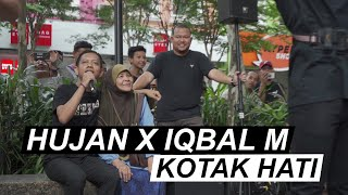 Hujan X Iqbal M - Kotak Hati [Live at Sogo]