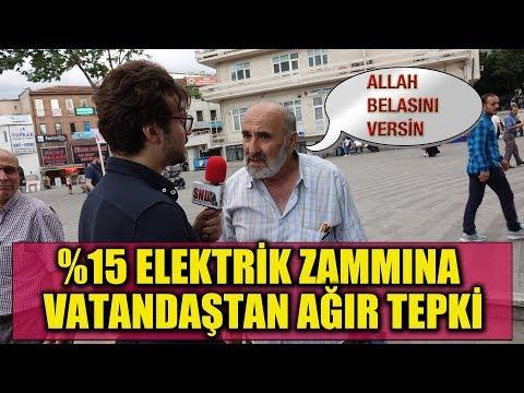 Elektriğe Gelen %15 Zam Hakkında Vatandaş Ne Diyor?