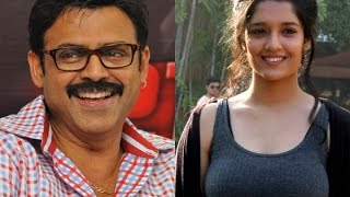 Ritika with Venkatesh for Irudhi Suttru Telugu Remake
