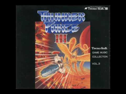 Technosoft Game Music Collection Vol. 3 - Thunder Force III (1990)