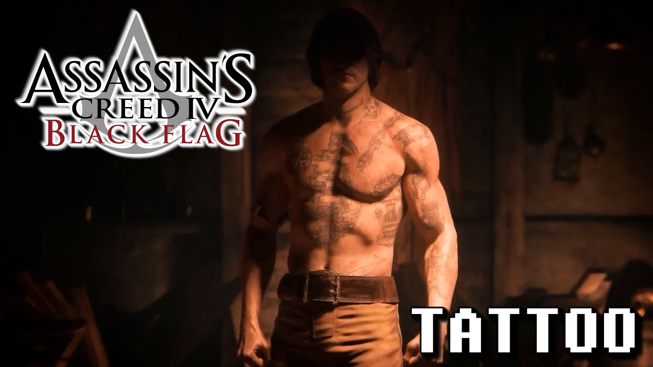 Assassin S Creed Iv Black Flag Tattoo Trailer Full Hd Youtube