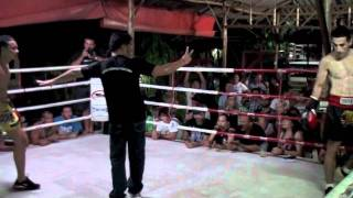 BBQ Beatdown 37: Simon (Thailand) vs Micheal (Australia) @ Tiger Muay Thai