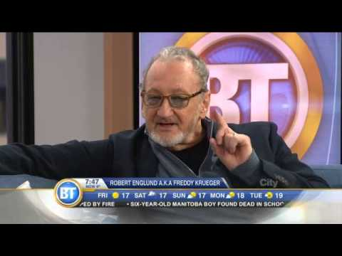 Robert Englund, actor behind Freddy Krueger, visits BT