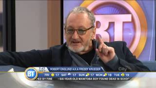 Robert Englund, actor behind Freddy Krueger, visits BT