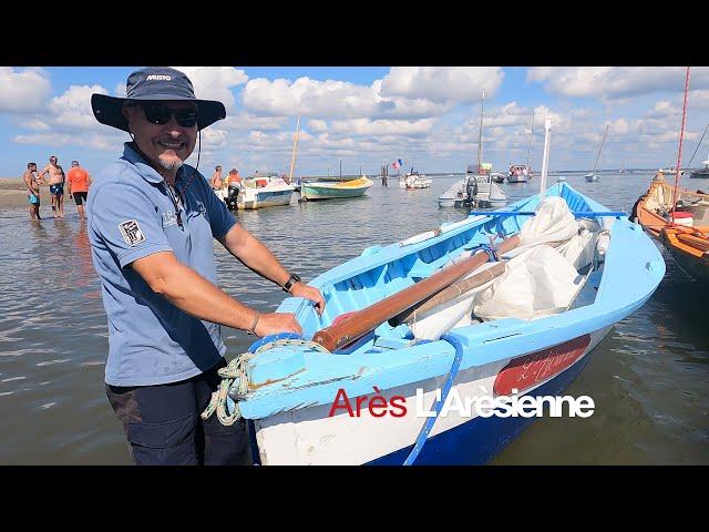 ARES - Concours  des Interviews des Pinasseyres  - Bassin d'Arcachon Ep 5 Pinasses à voile