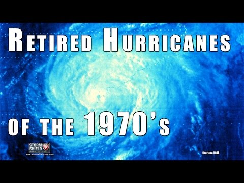 Retired Hurricanes of the 1970