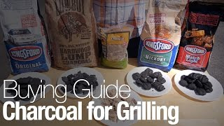 What kind of charcoal should I buy for grilling?