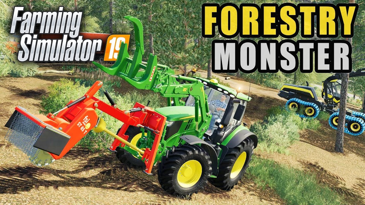 FS19- THE FORESTRY BEAST HAS WOKEN! MULTIPLAYER LOGGING EP #1