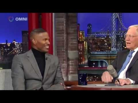 Jamie Foxx on David Letterman December 13th 2014 Full Interview