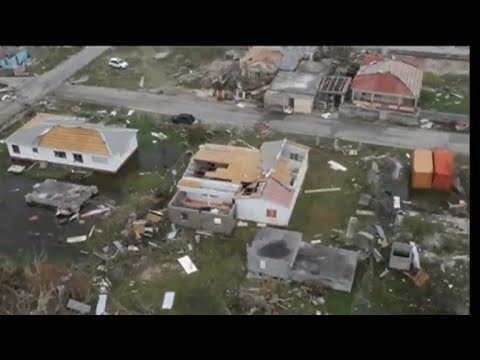 Hurricane Irma devastates Antigua and Barbuda