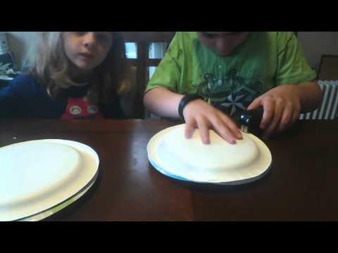 How to Make a Homemade Paper Plate Tambourine