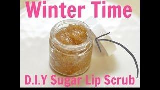 Diy: Lip Scrub For Winter