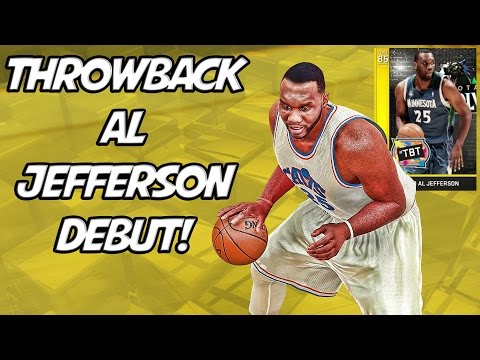 NBA 2K16 MyTeam - Throwback Al Jefferson Debut! - Varsity Squad