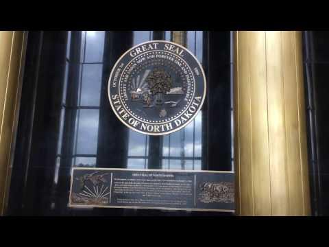 State Capitol Visit Bismarck North Dakota