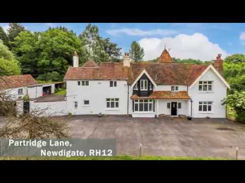 Five Bedroom Detached House For Sale Nr Dorking With 10 Acres