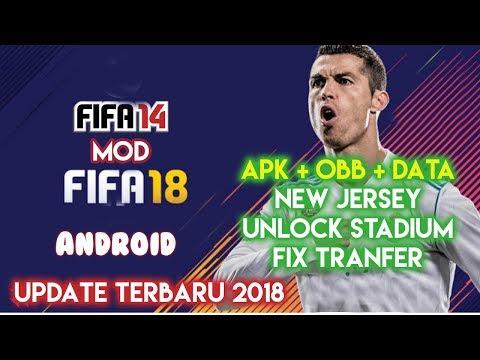 Game Fifa 14 Mod Android Update 2018 Terbaru Full Unlocked Indonesia (Apk + OBB + Data)