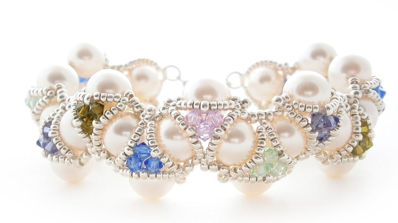 Ожерелье своими руками: плетение бусин из жемчуга 20