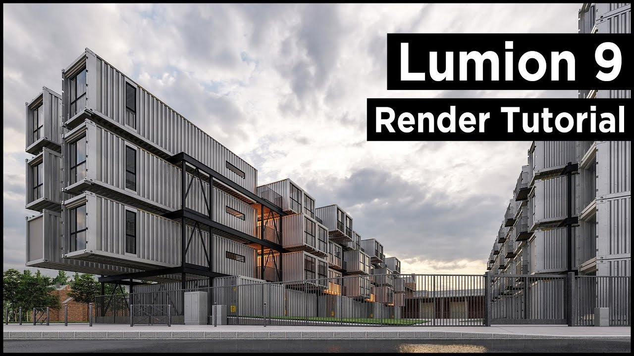 Lumion 9 Pro Architecture Rendering Tutorial
