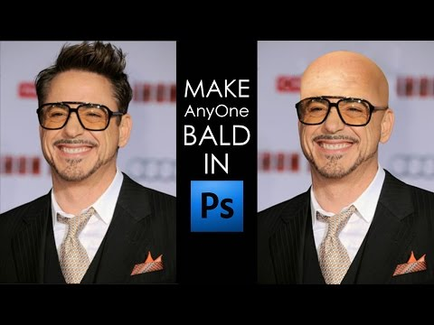 How To Make Someone Bald In Photoshop Step By Step
