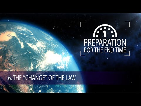"6 - The ""Change"" of the Law 