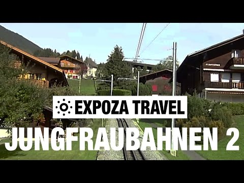 Jungfraubahnen Part 2 (Switzerland) Vacation Travel Video Guide