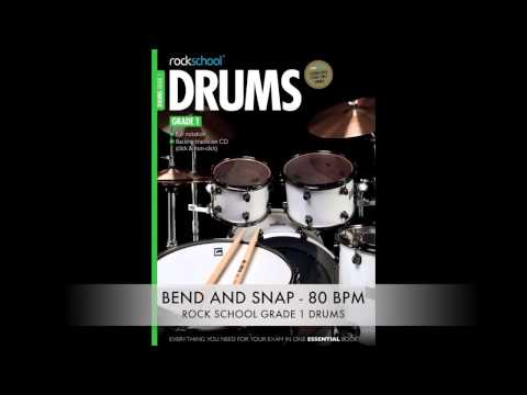 Rock School Grade 1 Bend And Snap With Click SLOWED DOWN FROM 113 BPM to 80 BPM