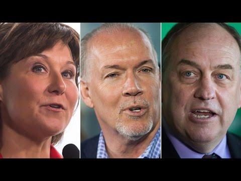 B.C. provincial leaders debate