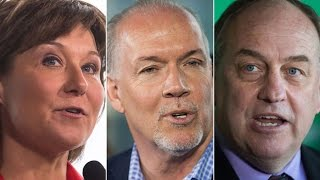 B.C. provincial leaders debate