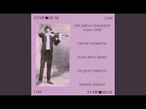 "Violin Concerto No. 5 in A Major, K. 219, ""Turkish"": III. Tempo di menuetto"