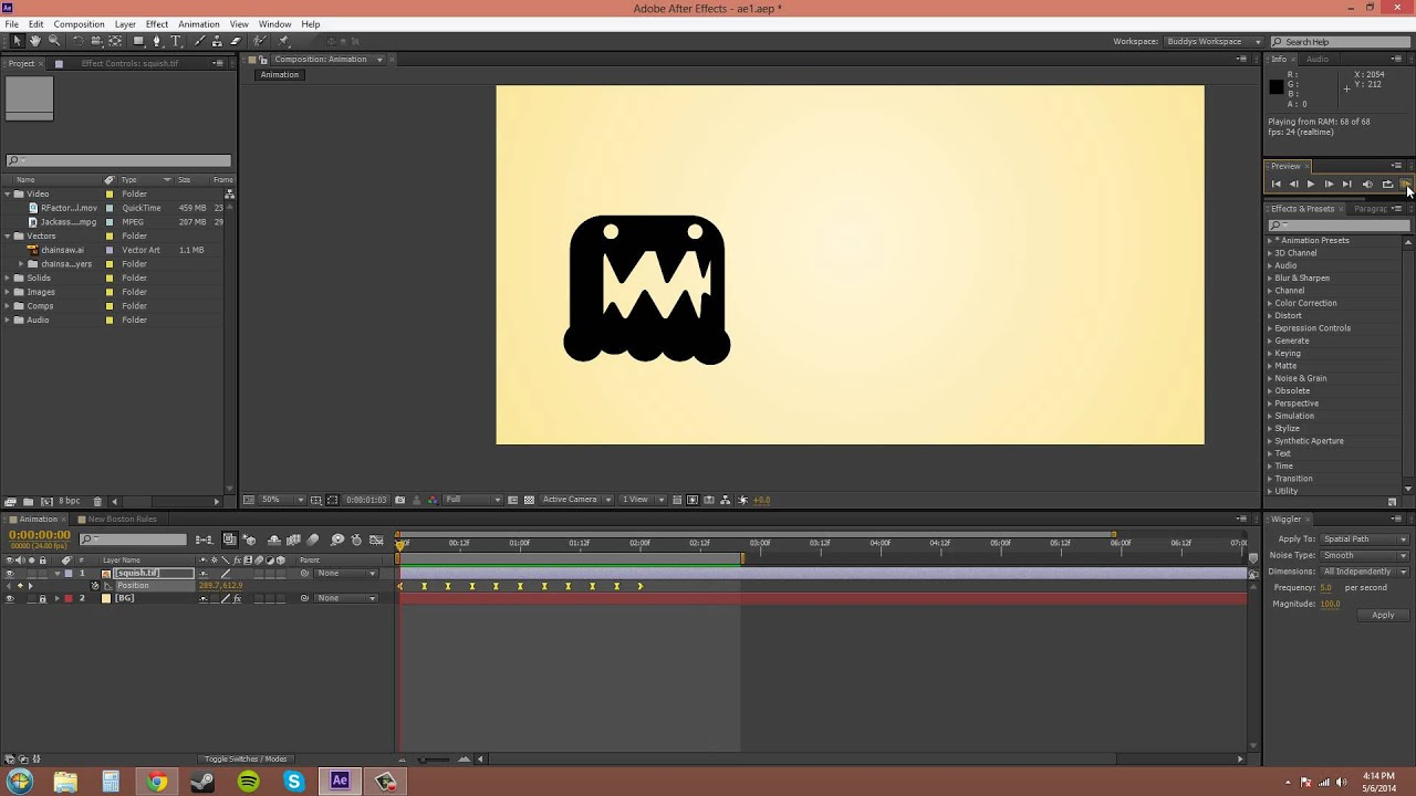 Wiggle transform & text in ae: adobe after effects tutorial.