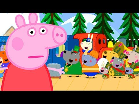 Peppa Pig Official Channel | Peppa Pig's Very Long Train Journey from YouTube · Duration:  1 hour 4 minutes 5 seconds