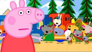 Download Peppa Pig Official Channel | Peppa Pig's Very Long Train Journey Mp3 and Videos