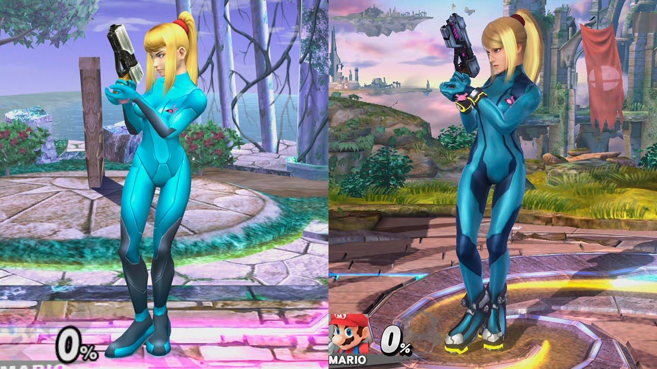 Super Smash Bros Wii U   Samus Zero Evolution - YouTube