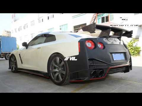 Carbon Fiber Gtr Nismo Trunk Wing Spoiler For Nissan R35