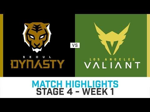Match Highlights: Seoul Dynasty vs Los Angeles Valiant - Stage 4 Week 1