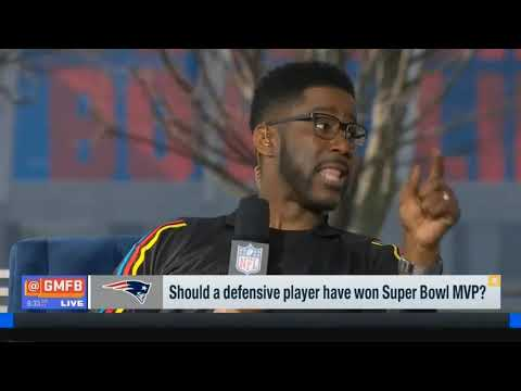 Should A Defensive Player Have Won Super Bowl MVP? | Good Morning Football Today