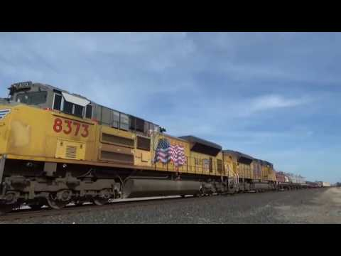 Railfaning in the Valley in CA