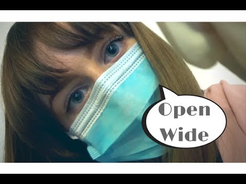 ASMR DENTIST ROLE PLAY: Dental check up and teeth whitening