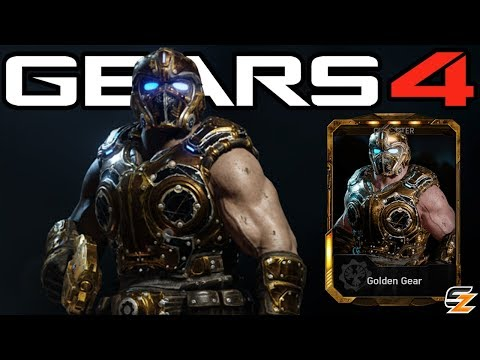 "Gears of War 4 - ""Golden Gear"" Character Multiplayer Gameplay!"