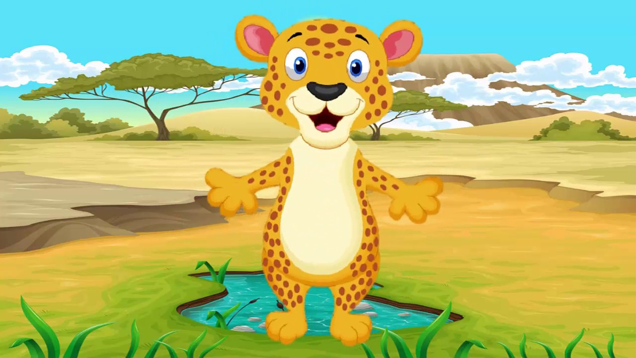 Wild Animals Cartoon | Funny Cartoon video for babies ...