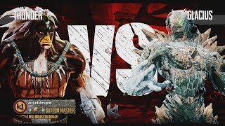 Killer Instinct Xbox One Thunder vs Glacius Kyle Difficulty Ultra Combo
